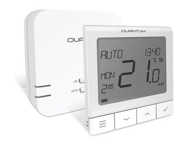 Quantum WQ610RF belaidis termostatas