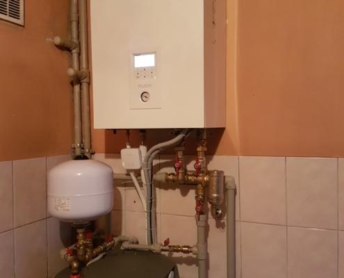 Panasonic Aquarea vidaus blokas ir boileris