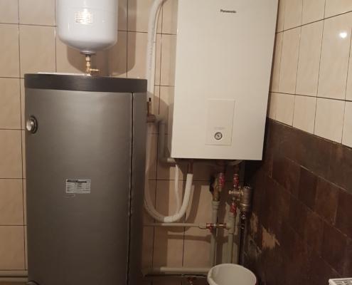 Panasonic šilumos siurblys ir boileris