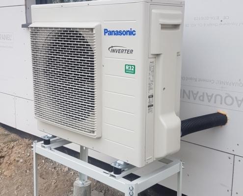 Panasonic Aquarea šilumos siurblio lauko blokas