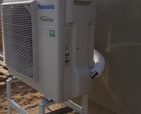 Panasonic Aquarea lauko blokas
